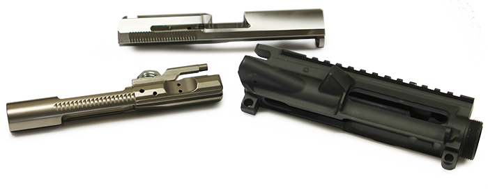 machined parts for firearm